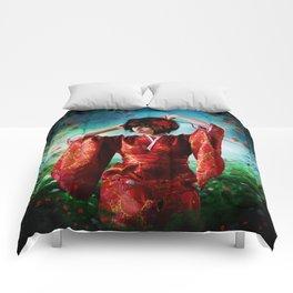 Geisha Garden Comforters