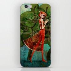Pepper Moonlight iPhone & iPod Skin
