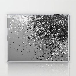 Sparkling Silver Gray Lady Glitter #1 #shiny #decor #art #society6 Laptop & iPad Skin