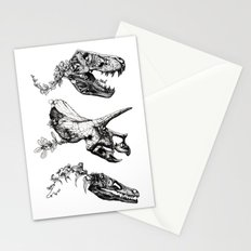 Jurassic Bloom. Stationery Cards
