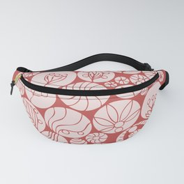 Botanical Forms Fanny Pack