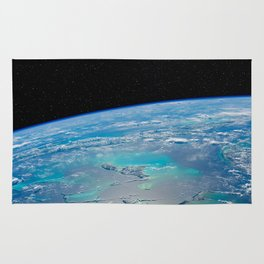 Caribbean Sea from space Rug