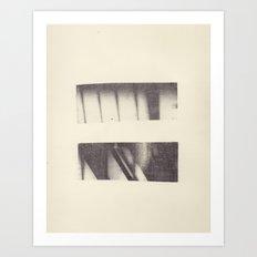Monotype: Stairs Art Print