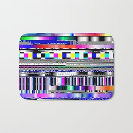 Glitch Ver.1 Bath Mat
