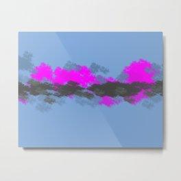Pink Sunset #sunset #pink Metal Print