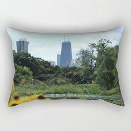 Garden View Rectangular Pillow