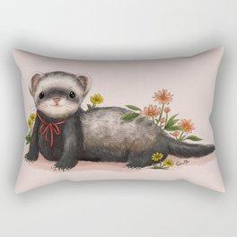 Little Ferret Rectangular Pillow
