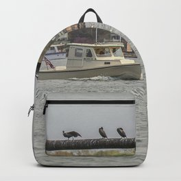 Cormorants on the Greasy Pole Backpack