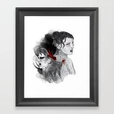 Black Swan II Framed Art Print