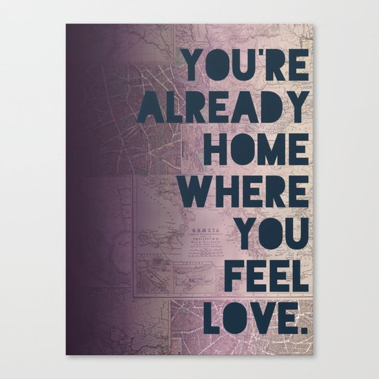 Home II Canvas Print