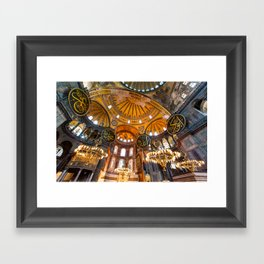 Beautiful Hagia Sophia Framed Art Print