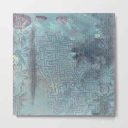 Aether Maze Metal Print