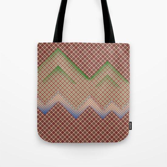 Mountain and Ocean  Tote Bag