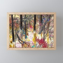 View from the road Framed Mini Art Print
