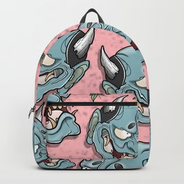 Hannya Flowers by Kevin Thrun Backpack