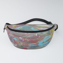 Patch of color Fanny Pack