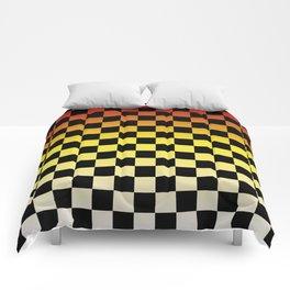 Chessboard Gradient IV Comforters