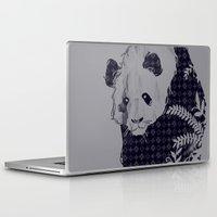 brand new Laptop & iPad Skins featuring New Brand Panda by Tobe Fonseca