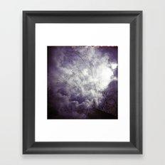 Lomographic Sky 1 Framed Art Print