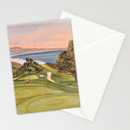Torrey Pines South Golf Course Hole 6 Stationery Cards