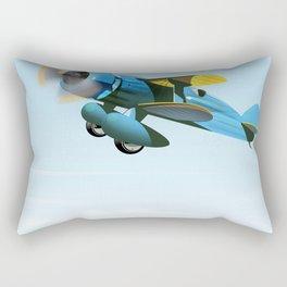Vintage Prop aircraft Rectangular Pillow