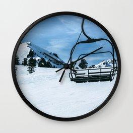 The Slopes Wall Clock