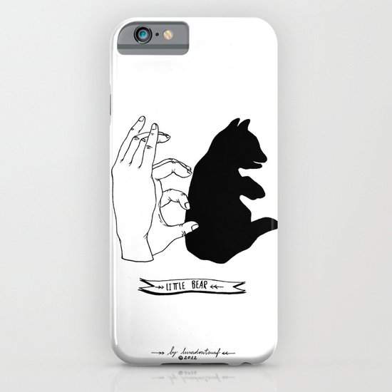 Hand-shadows iPhone & iPod Case