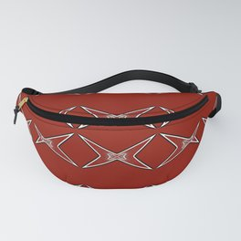 Stars Parade-red Fanny Pack