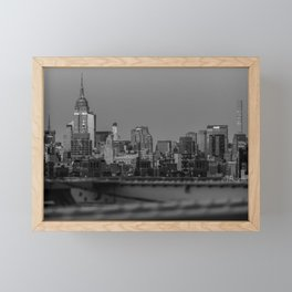 Quintessential New York Framed Mini Art Print