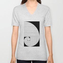 Espiral Áurea Unisex V-Neck