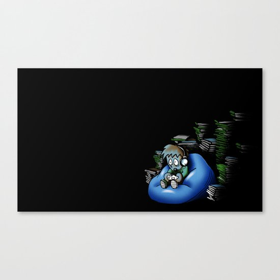 Backlog Canvas Print