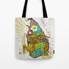 Abstract SL Tote Bag