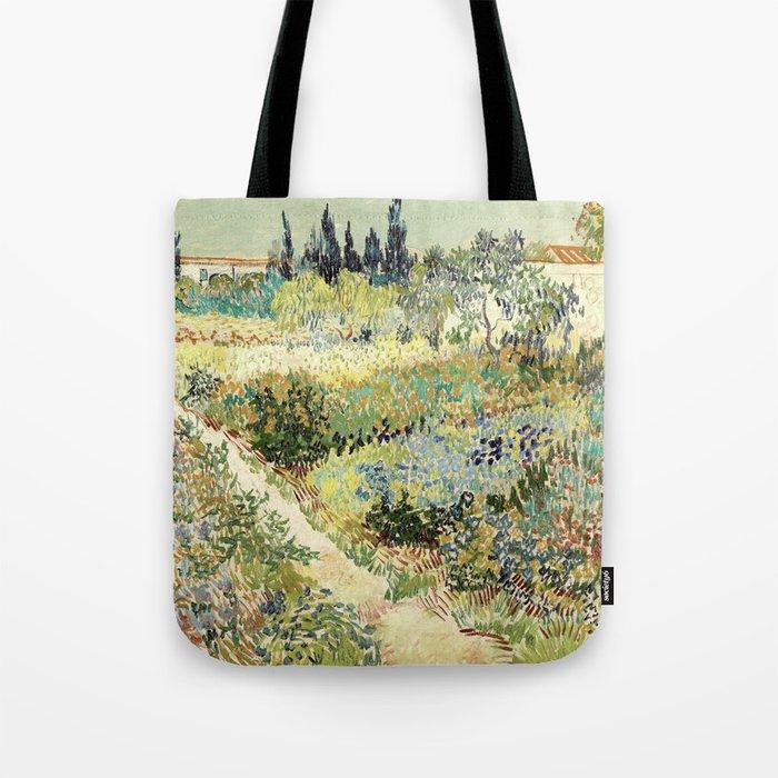 Vincent Van Gogh : Garden at Arles Umhängetasche