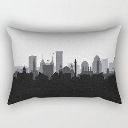 City Skylines: Baltimore (Alternative) Rectangular Pillow