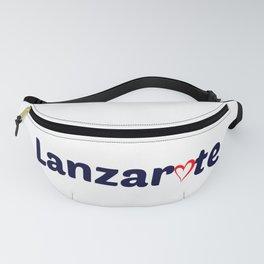 Lanzarote Love Fanny Pack