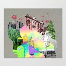 BK Canvas Print