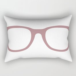 Rose-Colored Glasses Rectangular Pillow