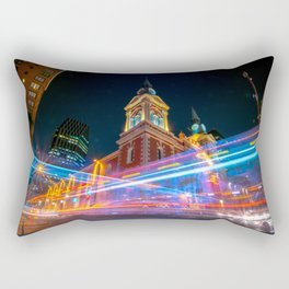 long time in the temple Rectangular Pillow