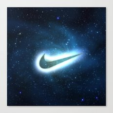 nike-galaxy Canvas Print