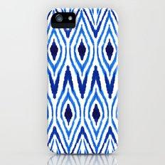 Ikat Blue Slim Case iPhone (5, 5s)