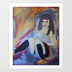 'Burlesque No. 3'  Art Print