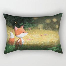 Little curious Rectangular Pillow