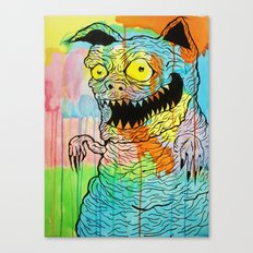 Pig Kitty Canvas Print