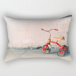 Childs Vintage Tricycle Rectangular Pillow