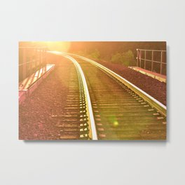 WHERE ARE WE GOING? Metal Print