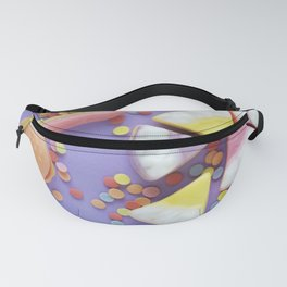 Purple Gummy Candy Fanny Pack