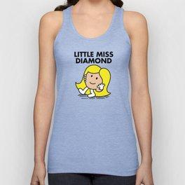 Little Miss Diamond Unisex Tank Top