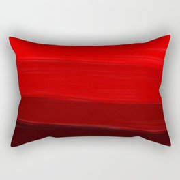Ombre in Red Rectangular Pillow