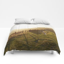 Rushup Edge at sunset. Derbyshire, UK. Comforters