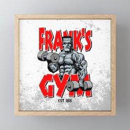 Frank's Gym Framed Mini Art Print